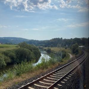 パドリング旅行記 on ラーン川 漕いできた距離を戻る旅