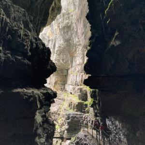 ハイキング in ブライタフクラム(Breitachklamm)