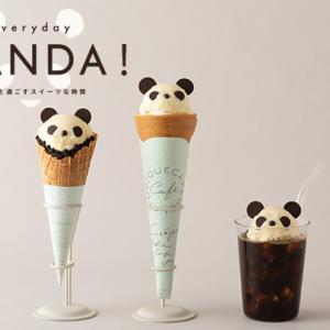 パンダと過ごすスイーツな時間