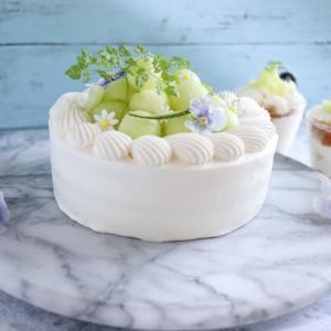 Twitterで流行中!?次男の誕生日にメロンショートケーキを作りました