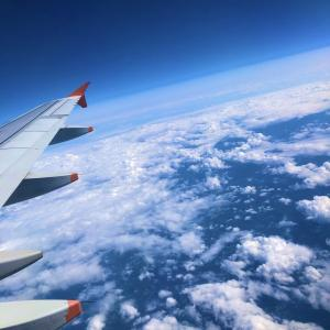 【TABIBITO】飛行機からの景色
