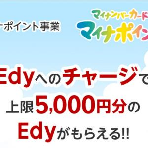 マイナポイントと楽天EDY