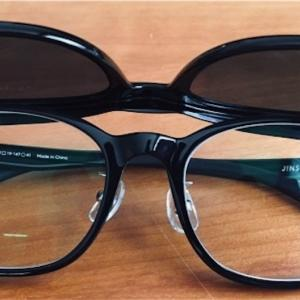 夏におすすめ!! JINS 一本でメガネにもサングラスにも使えるJINS SWITCH 跳ね上げ式も登場