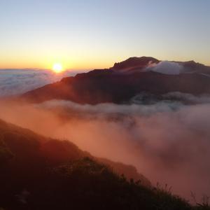 【登山レポ】2021/08/29 雲海からのご来光を拝む 熊本阿蘇 杵島岳・往生岳縦走