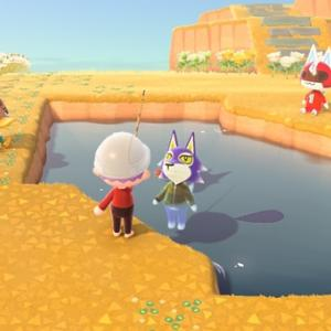 狼が池ポチャ