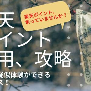 【攻略】楽天ポイント運用は投資疑似体験ができるおすすめサービス!