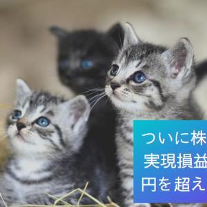 ついに株式投資の実現損益が200万円を超えました!