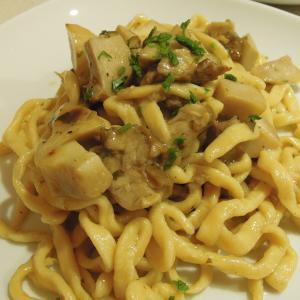 要領の悪い夕食準備。Troccoli ai Funghi Porcini
