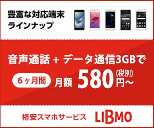 人気の格安SIM・格安スマホ【LIBMO】が2つのオプションサービスをリリース!