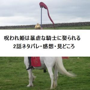 呪われ姫は暴虐な騎士に娶られる2話ネタバレ・感想・見どころ