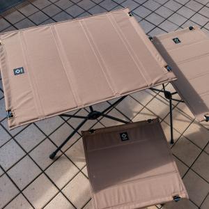3サイズ購入して比較しました ヘリノックス タクティカルテーブルS,M,L