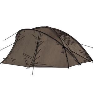 ソロキャンプにぴったりのスノーピークのミニッツドーム Pro.air1を徹底解剖