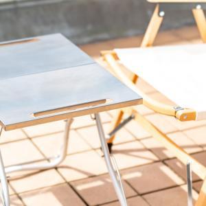 ソロキャンプにちょうど良いサイズのスノーピーク「TAKIBI Myテーブル」レビュー