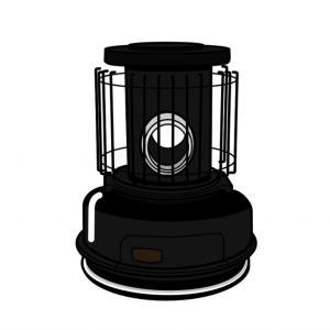 大人気センゴクアラジン ガスストーブにシックなブラックが新発売