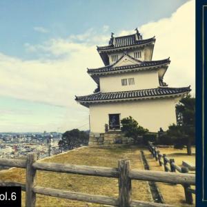 丸亀城天守からの眺め(城下を眺める Vol.6)