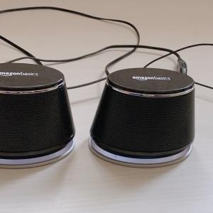 コスパ最強!高音質!Amazonベーシックスピーカーはかなりおすすめ!