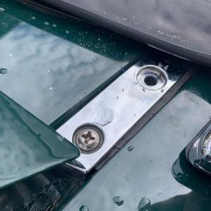 ユーノスロードスタートランク雨漏り修理Part.1