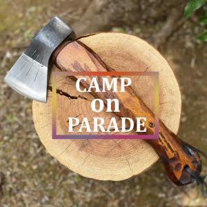 キャンプオンパレード製斧「焚刀(タクト)」セミオーダーで自分好みの世界に一本だけの斧!