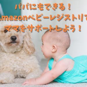 【パパができること】Amazonベビーレジストリのお得活用でママをサポートしよう!
