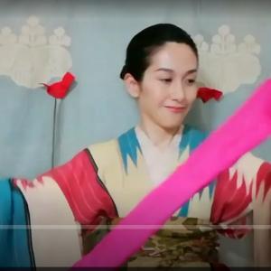 保護中: 柄出し帯結び個人レッスンA様へ☆新たな歴史結び発見しました!!