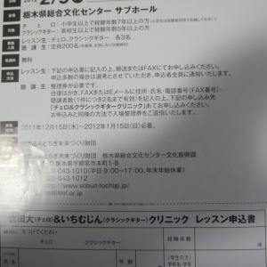 (ギター履歴書58話)'2012 栃木総合会館にてレッスン応募で指導を受けた思い出。