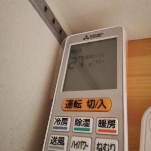 【エアコンの温度設定】と電気代(2019年9月~2020年8月)