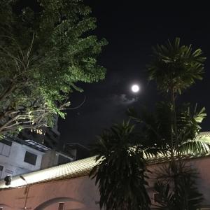 満月の夜。