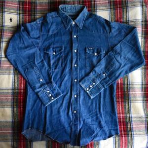 古着のWrangler(ラングラー)のウエスタンシャツを初購入【90年代USA製】
