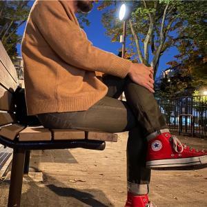 【メンズにおすすめ】スフレヤーンクルーネックセーターのレディース3XL 【ユニクロ×JWアンダーソン 2020AW】