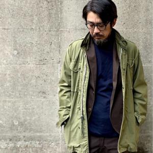 M65フィールドジャケットを使ったアラフォーメンズの1週間コーデ【古着・ファッションスタイリング】