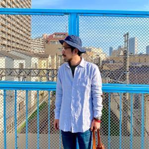 一枚でサマになるUNIQLOのプレミアムリネンシャツ【ユニクロ2021春夏メンズ購入品】
