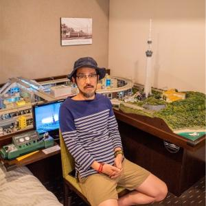 電車の走る部屋へ、秋葉原一泊旅【旅行・観光】