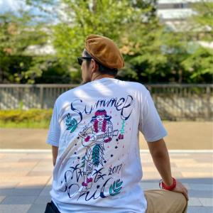 プリントTシャツを使った夏の1週間(10日間?)コーディネート