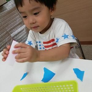 9月18日の幼児教室。
