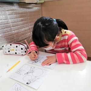 2月27日の幼児教室。