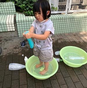 大好き♥水遊び♬