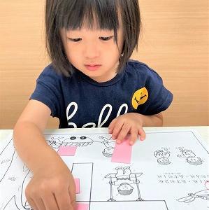 7月25日の幼児教室のご様子♬