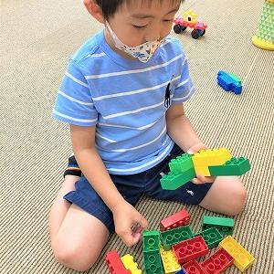 LEGOで遊びました♬