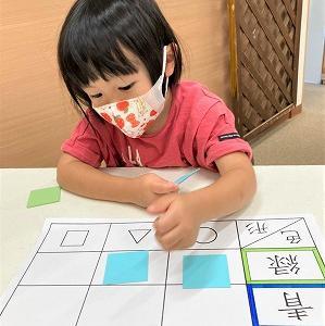 9月26日の幼児教室。