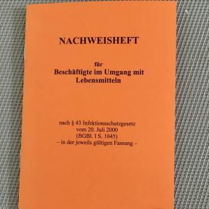 ドイツの飲食店で働きたい方必見!必要な資格【Gesundheitsbelehrung】の取得方法