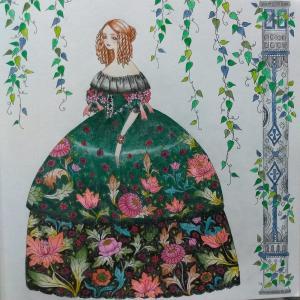 鏡の国の衣装美術館4 フランス皇后ウジェニー右完成