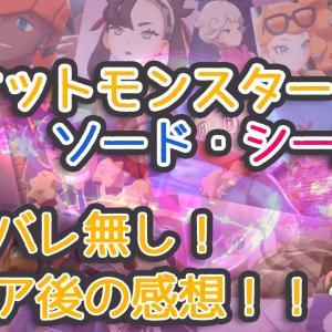 ポケモン剣盾の感想~懐古厨HSPが遊んだら号泣しっぱなしだった名作!~