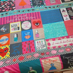 楽しい布で小物作り