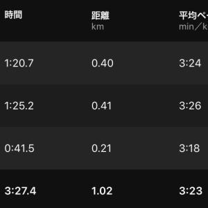 1000m2本 & しがないRC再興作戦 & 織姫神社