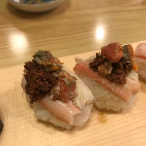 七尾の「幸寿し本店」で寿司を食べた