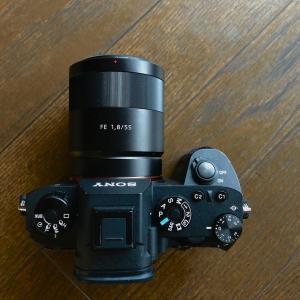 ソニーの新しいカメラが楽しみだ