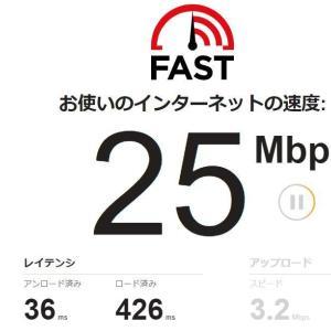ネット速度 目安