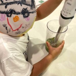 【いつかは自給自足】家庭菜園の紹介と幼稚園児がスパゲッティを作ってみた