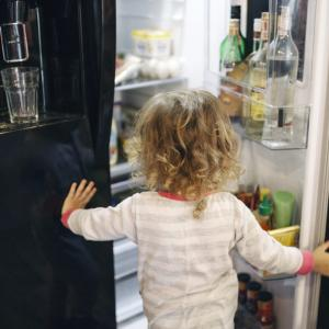冷蔵庫内の収納はステンレスフック付きピンチと仕切りがオススメ!