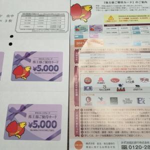 【改悪前ラスト】すかいらーくホールディングス株主優待券が到着!